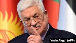 Палестинский лидер Махмуд Аббас.