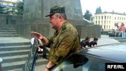 Вячеслав Борисов, коммандующий группировкой российских войск, пообещал, что военные из Гори уйдут