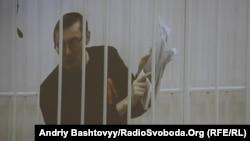 Юрій Луценко, фото з засідання Апеляційного суду Києва 21 листопада 2012 року