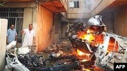 به گفته پلیس عراق احتمال افزایش تلفات غیر نظامیان در انفجارهای روز دوشنبه وجود دارد.