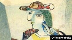 Пабло Пикассо. Сидящая женщина. Мария Тереза Вальтер (1937)