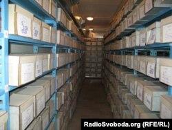 Былыя архівы КДБ у Кіеве