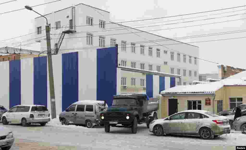 Больница в Красноярске, куда Толоконникову поместили после перевода из другой колонии и голодовки