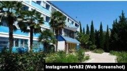 Пансіонат «Ікар» у селі Рибаче