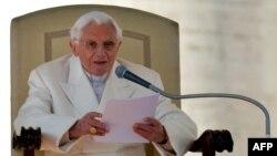 Папата Бенедикт 16