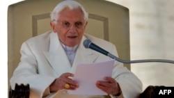 Рим папасы Бенедикт XVI