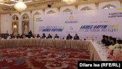 Rixos Khadisha Shymkent қонақүйінде өткен іскер әйелдердің бизнес форумы. Шымкент, 21 желтоқсан 2016 жыл.