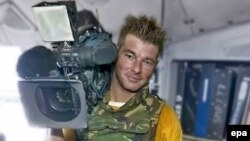 Dutch cameraman Stan Storimans was killed in a Russian air attack on Gori on August 12.