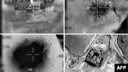 Фотографии, распространенные 20 марта 2018 года, показывают удар Израиля с воздуха по предполагаемому сирийскому ядерному реактору в 2007 году.