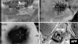 Фотографии, распространенные 20 марта 2018 года, показывают удар Израиля с воздуха по предполагаемому сирийскому ядерному реактору в 2007 году