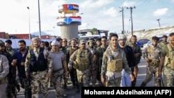 افراد گروه جداییطلب شورای انتقالی جنوب یمن