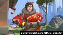 Звычайны выгляд Мэй —пэрсанажа гульні Overwatch
