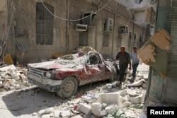 Алеппо сегодня