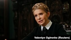 Юлия Тимошенко е сочена за фаворит да наследи Петро Порошенко като президент на Украйна.