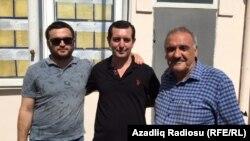 Faiq Əmirlinin vəkilləri: Aqil Layıcov (solda) və Fəxrəddin Mehdiyev (sağda)