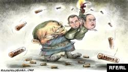 Политикан карикатура, автор - Oleksiy Kustovskyi