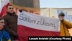 Варшавою пройшов Марш солідарності з Україною