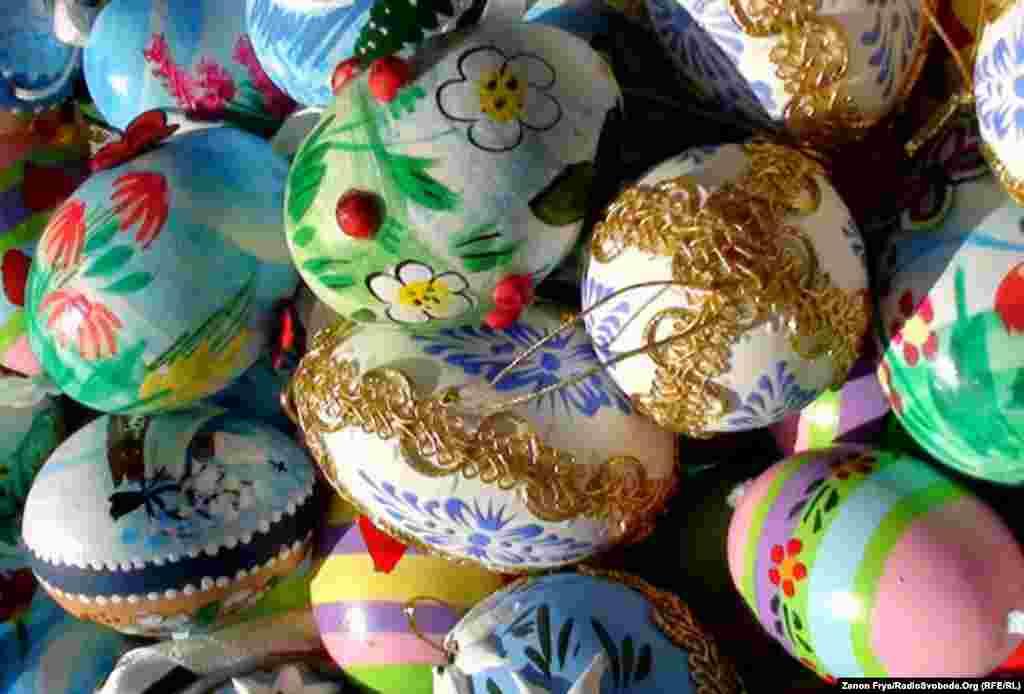 Красивые яйца. - Фото РСЕ/РС. Апрель, 2011 г.