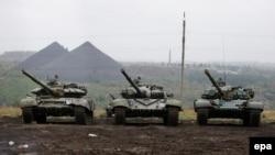 Військова техніка проросійських бойовиків, архівне фото