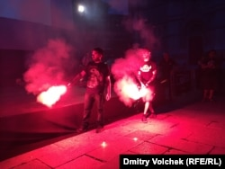"Акция протеста перед показом ""Касабланки"""