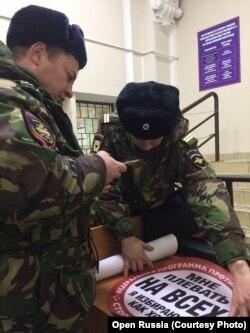 """""""СтопПутин"""" в полиции"""