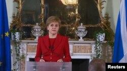 Првиот министер на Шкотска Никола Старџен.