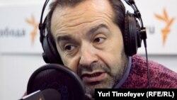 Виктор Шендерович в студии Радио Свобода