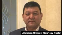 Участник Декабрьских событий 1986 года Алимжан Омаров.