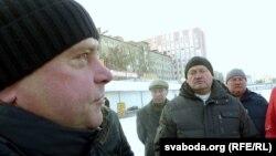 Муж Сьвятланы – Уладзімер (на фота профілем)