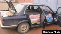 Dogana e Kosovës konfiskon produkte qumështore të kontrabanduara me prejardhje nga Serbia, 02 prill 2012
