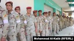 امام احد مراكز اقتراح قوات الامن والجيش في الموصل