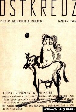 România în revista clandestină Ostkreuz