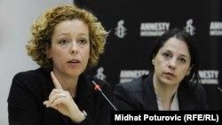 Језерка Тагани земеник директор на Амнести интернешнал, одговорна за Европа и Централна Азија,