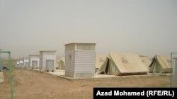 Pamje nga një kamp i refugjatëve sirianë