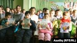 Бәләбәй татар гимназиясе һәм балалар бакчасы укучылары