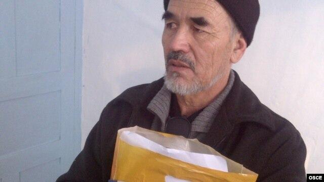 Azimjan Askarov in prison in Bishkek in 2011