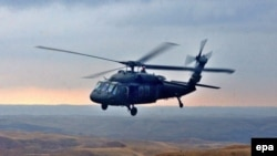 Black Hawk helicopter (file photo)