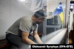 Ivan Prykhodko in Holosiivskyi district court in Kyiv on June 4