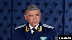 Ixtiyor Abdullayev O'zbekiston Davlat xavfsizlik xizmati raisi lavozimidan fevralda ozod qilingan edi.
