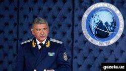 Ихтиёр Абдуллоев, раиси пешини Хадамоти амнияти Узбекистон.