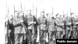 Группа северокавказских коллабрационистов в рядах германской армии