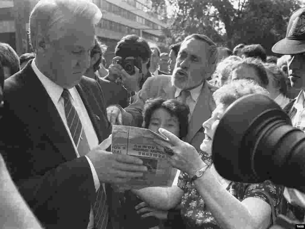 Народний депутат СРСР Єльцин, Москва, 1989 рік