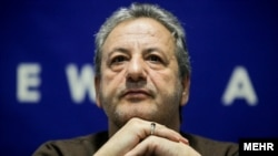 Iranian director, Abolghasem Talebi whose Golden Collars film alleged foreign infiltration into Iran's intelligence ministry. File photo
