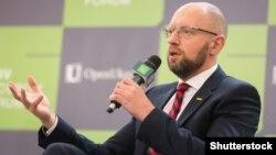 Экс-премьер-министр Украины Арсений Яценюк