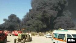 پیش از این نیز در برخی از کارخانهها و واحدهای صنعتی مرتبط با صنعت نفت، آتشسوزیهایی رخ داده است