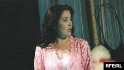 Актриса Күнсұлу Тұрғынбекқызы. Алматы