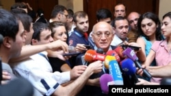 Azerbaijan -- Mubariz Gurbanli, head of the State Committee for Work with Religious Organisations - 01Sep2014