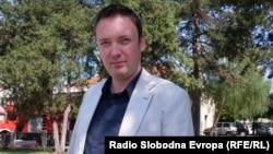 """Горан Милевски, професор во Средното Економско училиште """"Јане Сандански"""" во Битола. Советник од ЛДП во општина Битола."""