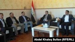 رئيس وأعضاء مجلس محافظة نينوى يجتمعون في دهوك