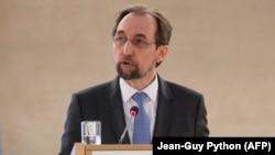 Shefi për të drejta të njeriut i Kombeve të Bashkuara, Zeid Ra'ad Al Hussein.
